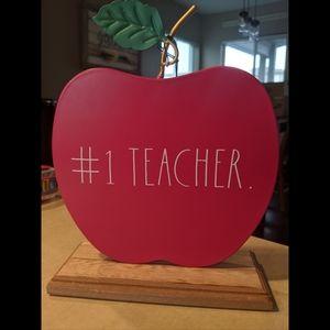 #1 Teacher Rae Dunn
